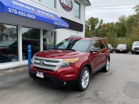 2013 Ford Explorer for sale at Best Price Auto Sales in Methuen MA