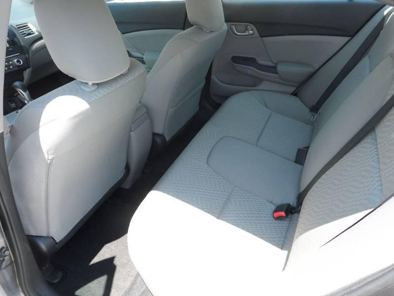 2015 Honda Civic LX 4dr Sedan CVT - Chicopee MA
