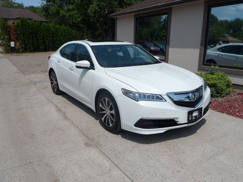 2015 Acura TLX for sale in Chicopee, MA