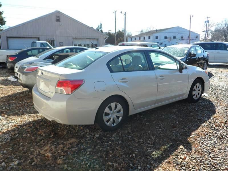 2013 Subaru Impreza AWD 2.0i 4dr Sedan CVT - Chicopee MA