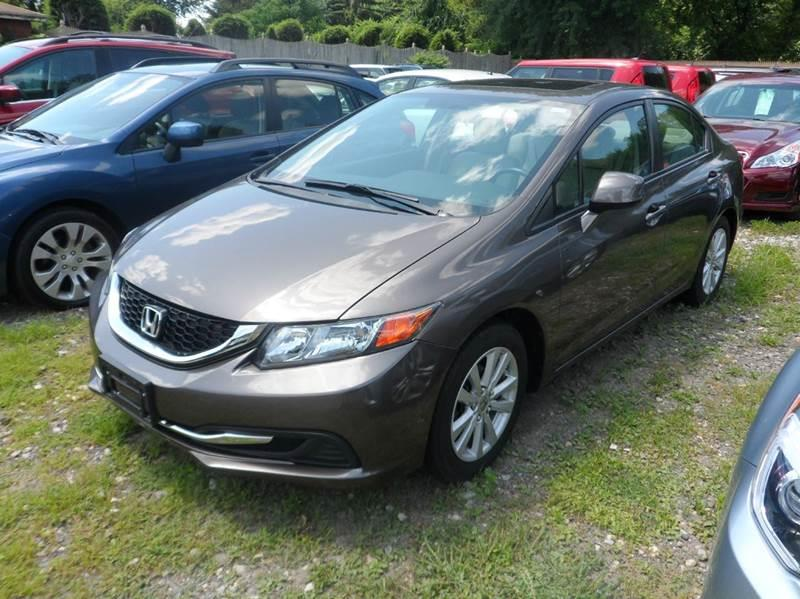 2012 Honda Civic EX 4dr Sedan - Chicopee MA
