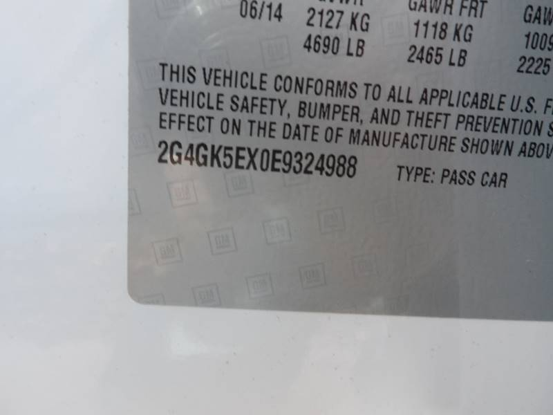 2014 Buick Regal 4dr Sedan - Chicopee MA