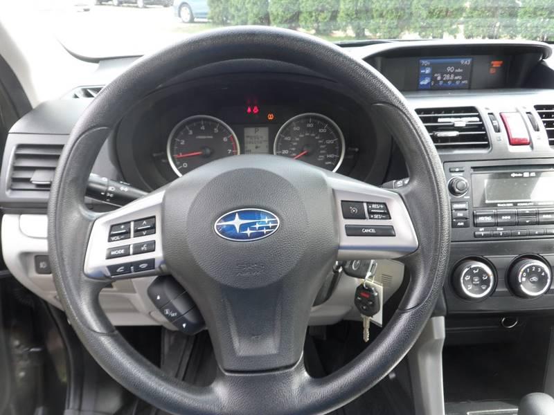 2014 Subaru Forester AWD 2.5i Premium 4dr Wagon CVT - Chicopee MA