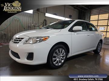 2013 Toyota Corolla for sale in Gallatin, TN