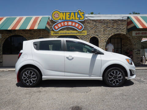 2014 Chevrolet Sonic for sale at Oneal's Automart LLC in Slidell LA