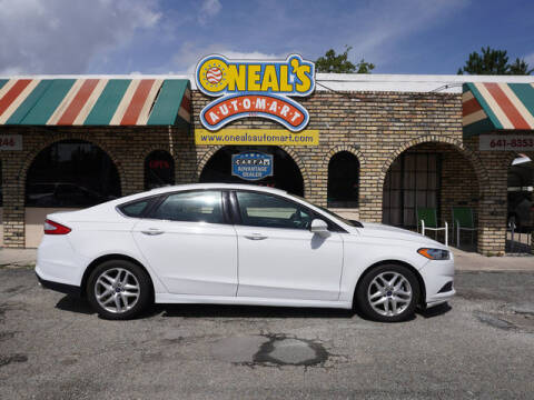 2016 Ford Fusion for sale at Oneal's Automart LLC in Slidell LA