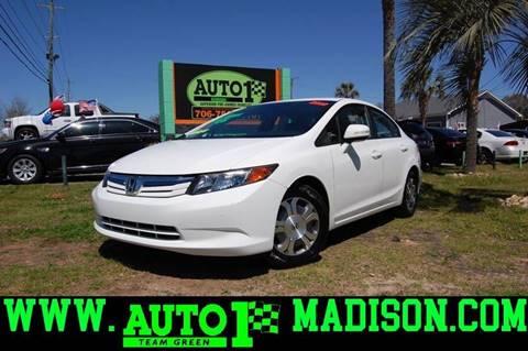 2012 Honda Civic For Sale In Madison, GA