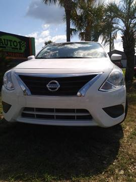 2016 Nissan Versa for sale in Madison, GA