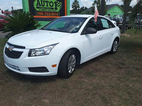 2012 Chevrolet Cruze for sale at Auto 1 Madison in Madison GA