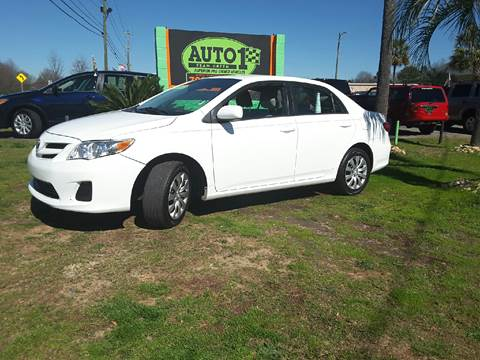 2012 Toyota Corolla for sale at Auto 1 Madison in Madison GA