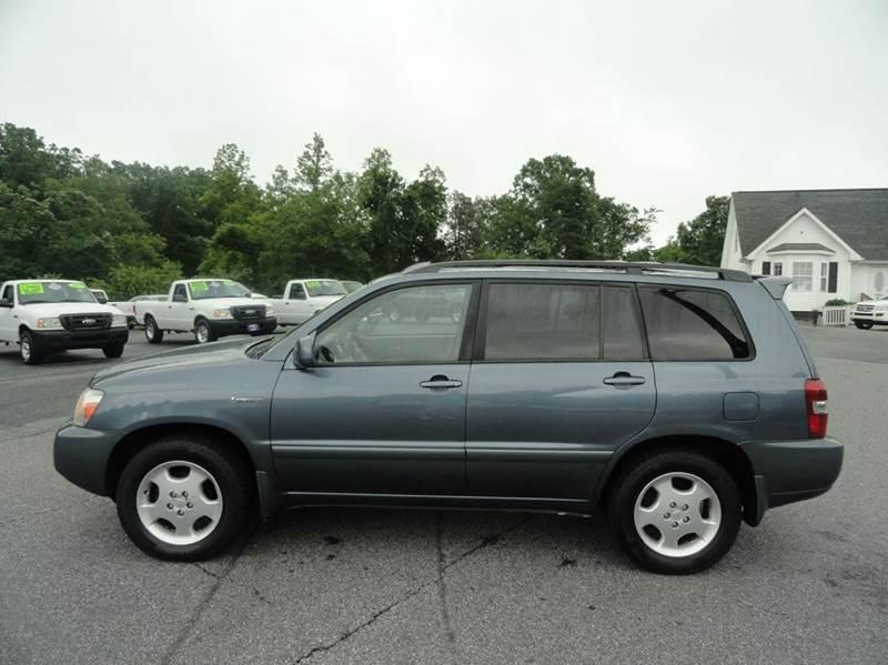 2004 Toyota Highlander AWD Limited 4dr SUV w/3rd Row - Granite Falls NC