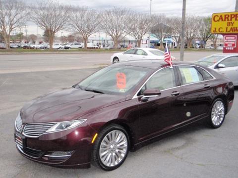 2013 Lincoln Mkz For Sale >> 2013 Lincoln Mkz For Sale In Virginia Beach Va