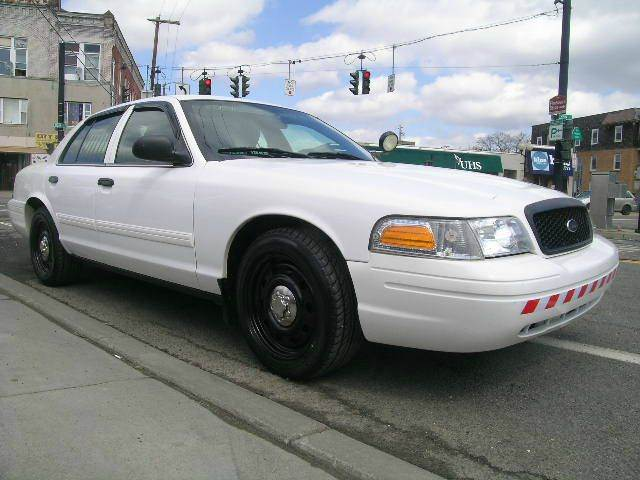 2011 ford crown victoria police interceptor pursuit 4dr sedan (3.55