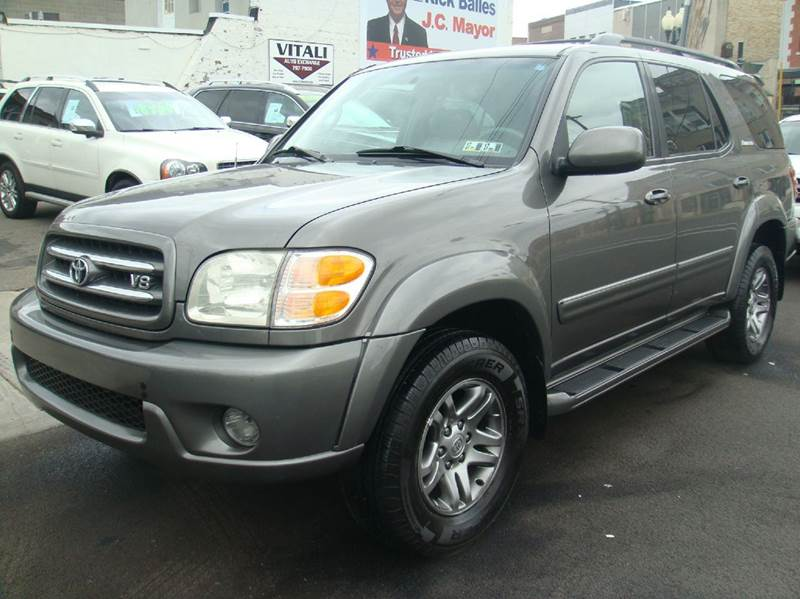 2003 toyota sequoia limited 4wd 4dr suv in johnson city ny vitali auto exchange. Black Bedroom Furniture Sets. Home Design Ideas