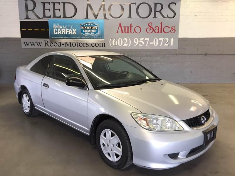 2005 Honda Civic Value Package 2dr Coupe   Phoenix AZ