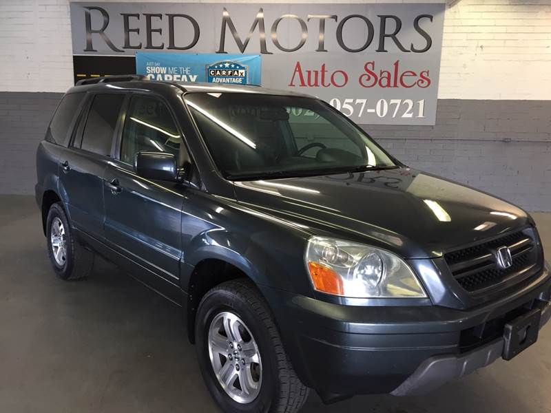 2003 Honda Pilot 4dr EX L 4WD SUV W/ Leather And Entertainment System