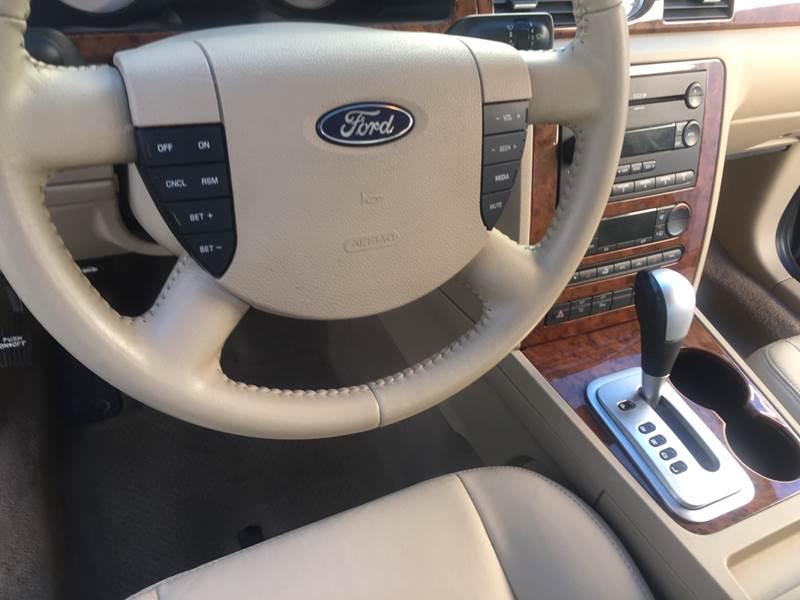 2006 ford five hundred limited transmission