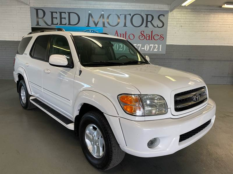 2002 toyota sequoia limited 4wd 4dr suv in phoenix az reed motors llc 2002 toyota sequoia limited 4wd 4dr suv