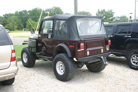 1978 Jeep Wrangler for sale in West Point, MS