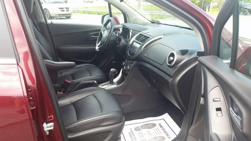 2016 Chevrolet Trax AWD LTZ 4dr Crossover w/1LZ - Somerset PA