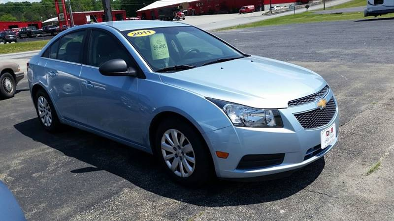 2011 Chevrolet Cruze LS 4dr Sedan - Somerset PA