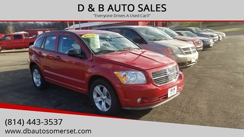 2012 Dodge Caliber for sale in Somerset, PA