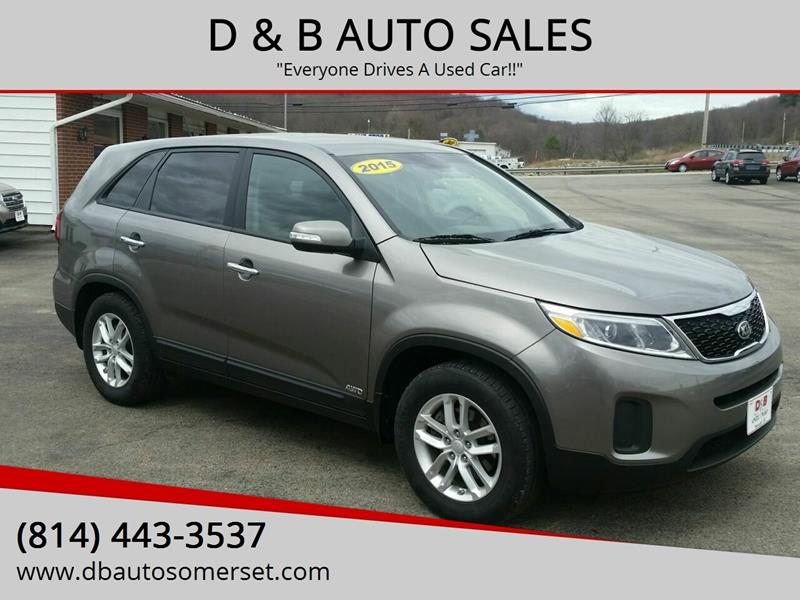 B And B Auto Sales >> D B Auto Sales Used Cars Somerset Pa Dealer