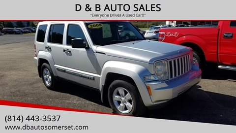 2009 Jeep Liberty for sale in Somerset, PA