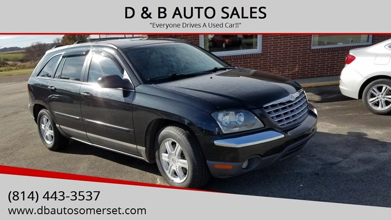 2005 Chrysler Pacifica Touring >> 2005 Chrysler Pacifica Awd Touring 4dr Wagon In Somerset Pa