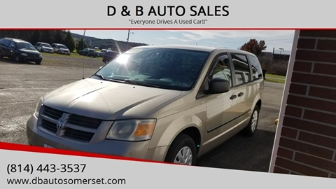 2008 Dodge Grand Caravan for sale in Somerset, PA