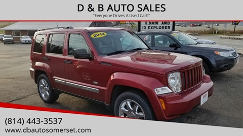 2012 Jeep Liberty for sale in Somerset, PA