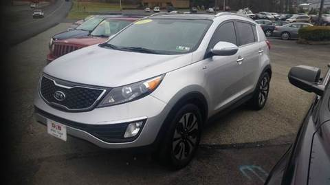 2012 Kia Sportage for sale in Somerset, PA