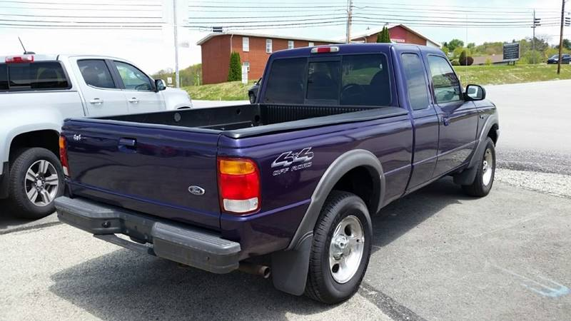 1998 Ford Ranger 2dr XLT 4WD Extended Cab SB - Somerset PA