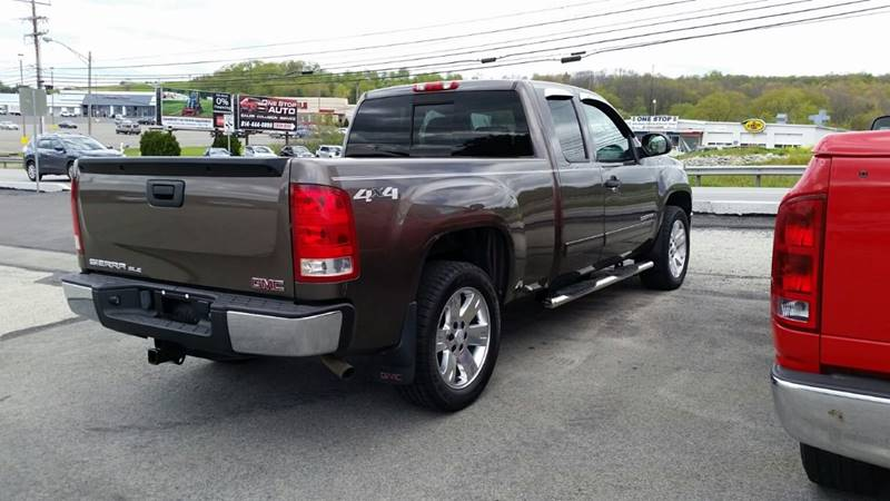 2008 GMC Sierra 1500 4WD SLE2 4dr Extended Cab 6.5 ft. SB - Somerset PA