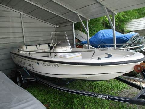 1996 Boston Whaler Rage 15