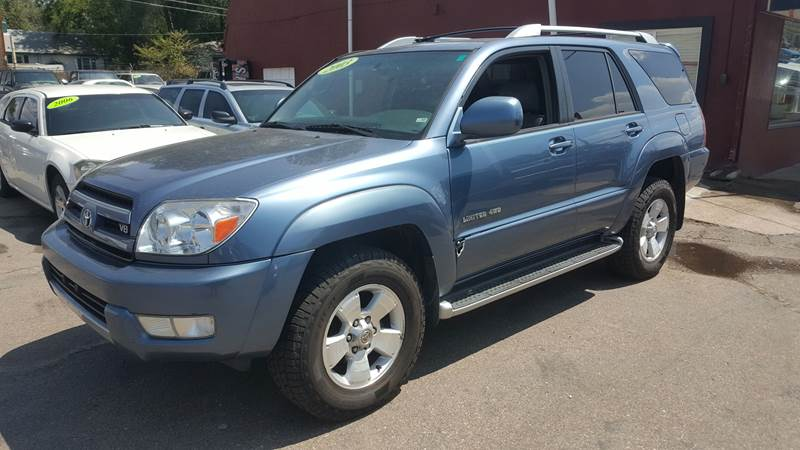 2003 Toyota 4Runner For Sale At B Quality Auto Check In Englewood CO