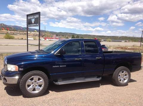 2005 Dodge Ram Pickup 1500 for sale at Skyway Auto INC in Durango CO
