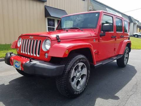2018 Jeep Wrangler Unlimited for sale in Hudson, NC