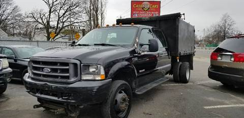 2004 Ford F450 Crew Cab-Dump Truck for sale at Cash For Cars Long Island - Used Cars For Sale in Lindenhurst NY