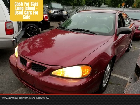 2005 Pontiac Grand Am for sale at Cash For Cars Long Island - Used Cars For Sale in Lindenhurst NY