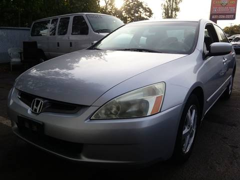 2003 Honda Accord for sale at Cash For Cars Long Island - Used Cars For Sale in Lindenhurst NY