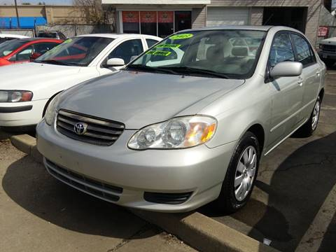 2003 Toyota Corolla for sale at Cash For Cars Long Island - Used Cars For Sale in Lindenhurst NY