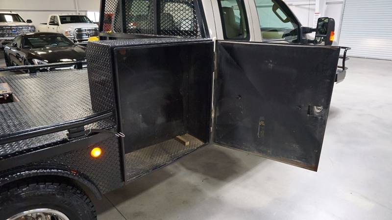 2008 Ford F-350 Super Duty DIESEL 4X4 FLAT BED - Houston TX