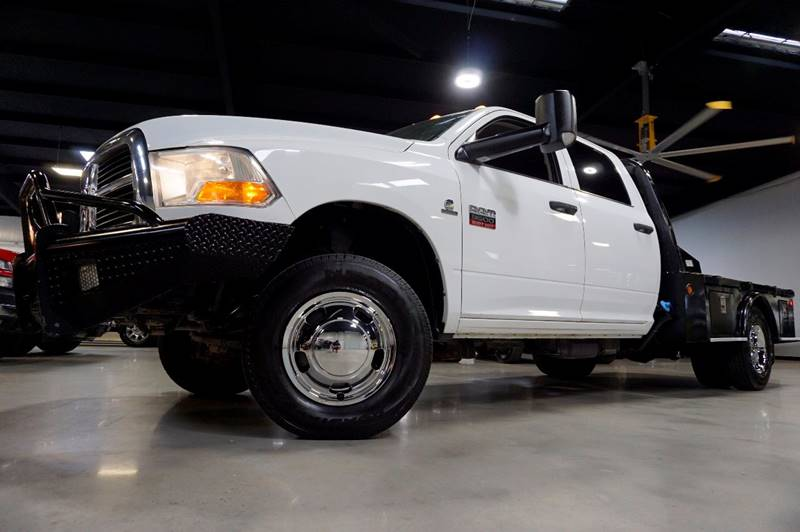 2011 RAM Ram Chassis 3500 4x4 ST 4dr Crew Cab 172.4 in. WB Chassis - Houston TX