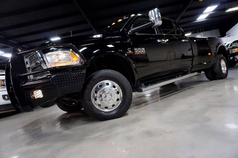 2014 RAM Ram Pickup 3500 4x4 Laramie 4dr Crew Cab 8 ft. LB Pickup - Houston TX