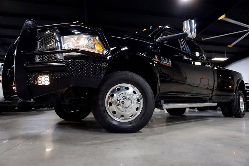 2014 RAM Ram Pickup 3500 4x4 Laramie 4dr Crew Cab 8 ft. LB Pickup - Houston TX