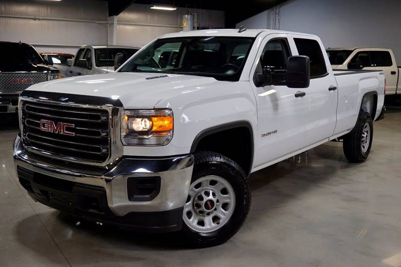 2015 GMC Sierra 3500HD 4x4 4dr Crew Cab LB SRW - Houston TX