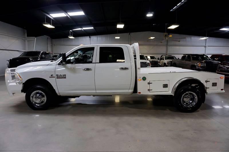 2013 RAM Ram Pickup 3500 4x4 Tradesman 4dr Crew Cab 8 ft. LB Pickup - Houston TX