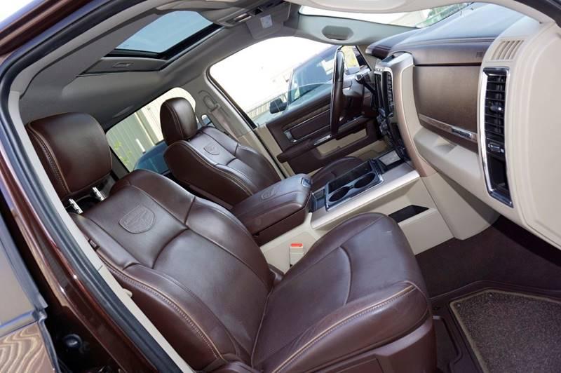 2015 RAM Ram Pickup 3500 4x4 Laramie Longhorn 4dr Mega Cab 6.3 ft. SB Pickup - Houston TX