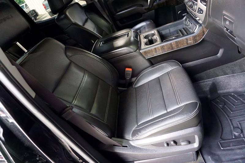 2015 GMC Sierra 3500HD 4x4 Denali 4dr Crew Cab LB SRW - Houston TX